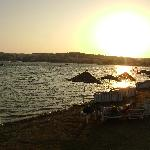 Gumbet at sunset