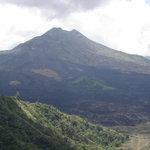 Active Mount Batur Volcano