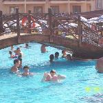 kids at pool area