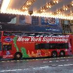New York Sighseeing Bus