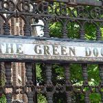 The Green Door Sign
