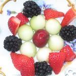Kaleidoscope of fruit