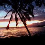 A beautiful Kahana sunset.