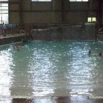 The wave pool.