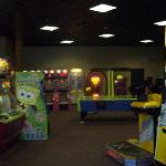 Just a glimpse in the arcade.
