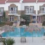 Pool Area at Grapevine Villas