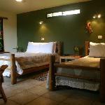 The Rain Forest Casita bedroom