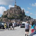 Mont St. Michel is a short drive away