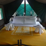Inside your tent