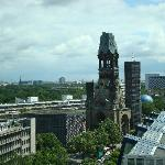 view of Berlin, from hotel