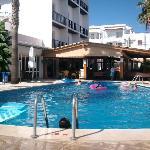 Pool area at Mar Y Huerta