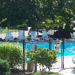 Our pool at Handkerchief Shoals Inn sparkles.