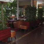 Halle im Foyer des Hotel Golebiewski, Bialystok