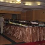 Der Frühstücksraum vom Hotel Golebiewski, Bialystok