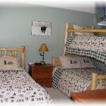 Big Horn Upstairs Guest Bedroom