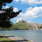 Prince of Wales Hotel, from Waterton Townsite