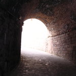 Montjuic Fort - archway