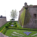 Montjuic Fort - walls