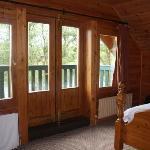 Master beroom & balcony
