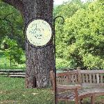 OUAN storytelling bench at Valley Forge
