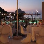 il ristorante sul mare.......