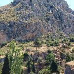 il castello visto da Nafplion