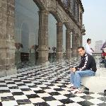 The outer patio of the Castillo