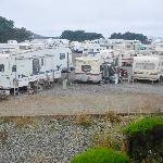 The beachview (beyond the RVs!!!!)