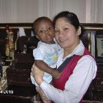 Friendly staff ttook a snap with my son