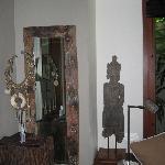 Decoration at the Villa
