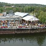 outdoor dining - pic taken from the Riverboat Discovery