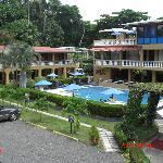 Vue de l'hôtel