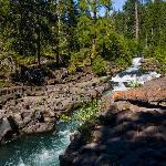 Deschutes River near Union Cr Lodge