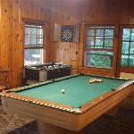 Recreation room in main lodge