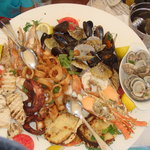 The Seafood Plate - Superb!