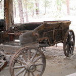Collier Logging Museum - old wagon