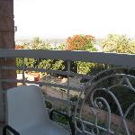 Small balcony with Nileview.