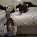 La habitación con internet