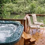 Relax on Riverside Decks