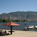 The beach at Safari Beach - Osoyoos