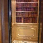 Al Bustan - the elevator!