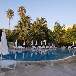 piscine n°2 au lever du soleil