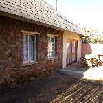 Terrasse du chalet