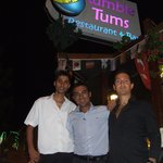 Murat and the guys at Rumble Tums