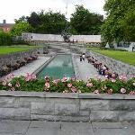 Garden of rememberance-opposite hotel.