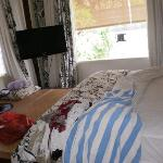 Plasma in bedroom