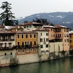 View from the Bridge in Bassano del Grappa