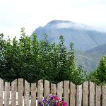 Ben Nevis from the front house and car park