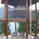 Double deck gazebo