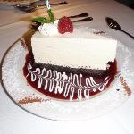 frozen white chocolate .. YUM!